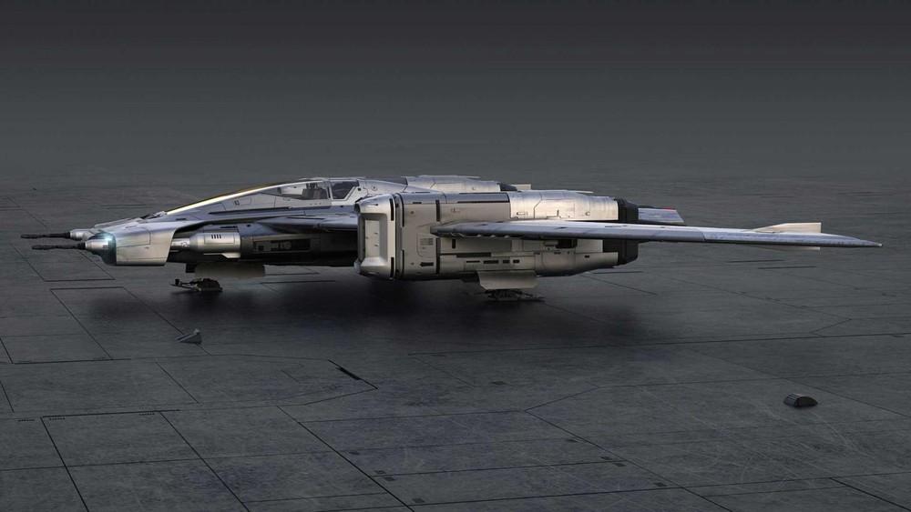 Tri-Wing S-91x Pegasus Starfighter ra đời dưới sự hợp tác của Porsche và Lucasfilm