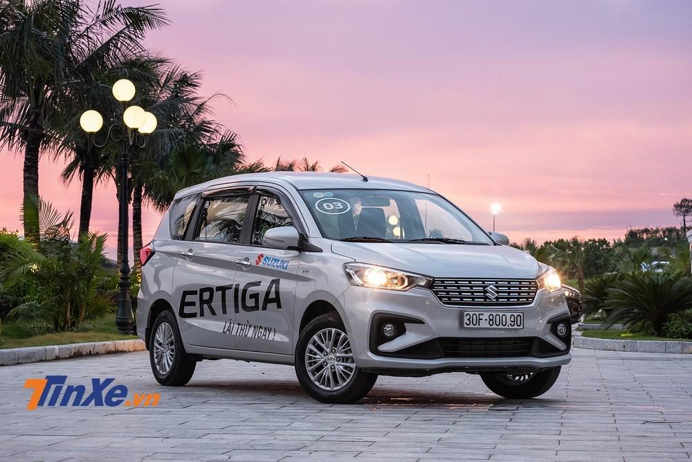 Suzuki Ertiga 2019 có giá rẻ hơn Mitsubishi Xpander nhưng vẫn chưa đủ lực cạnh tranh