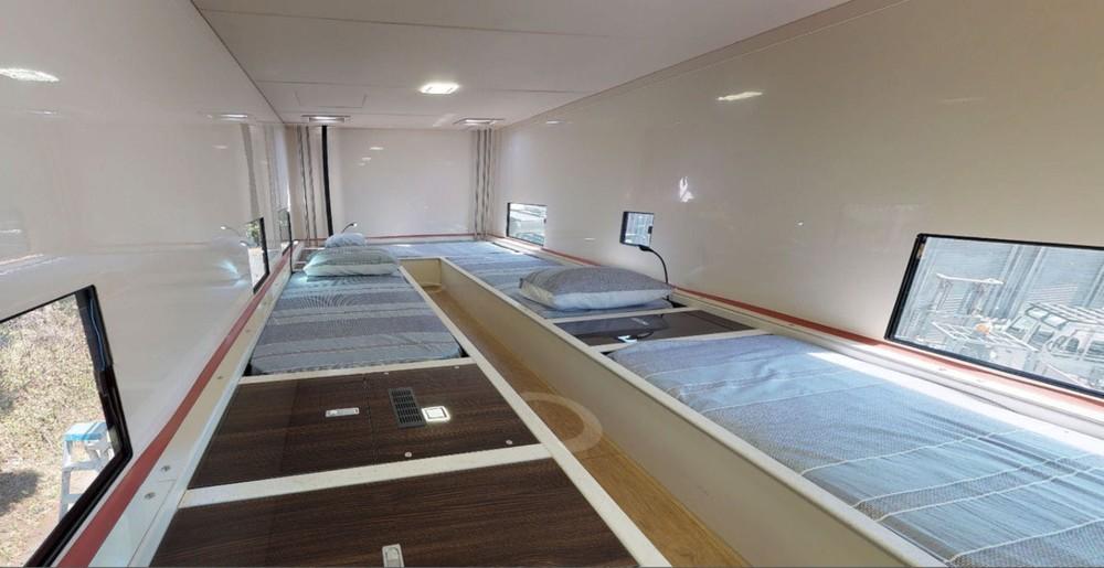 Tầng 2 có chỗ ngủ có 6 người