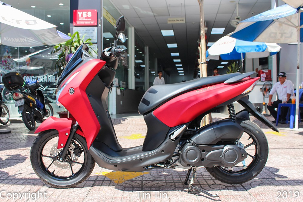 Yamaha Lexi comes back to Vietnam with a very safe ABS anti-lock braking system
