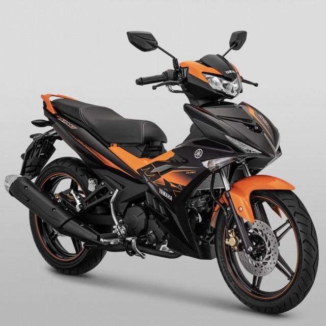 MX King 2020 - Yamaha Exciter 2020 is orange black