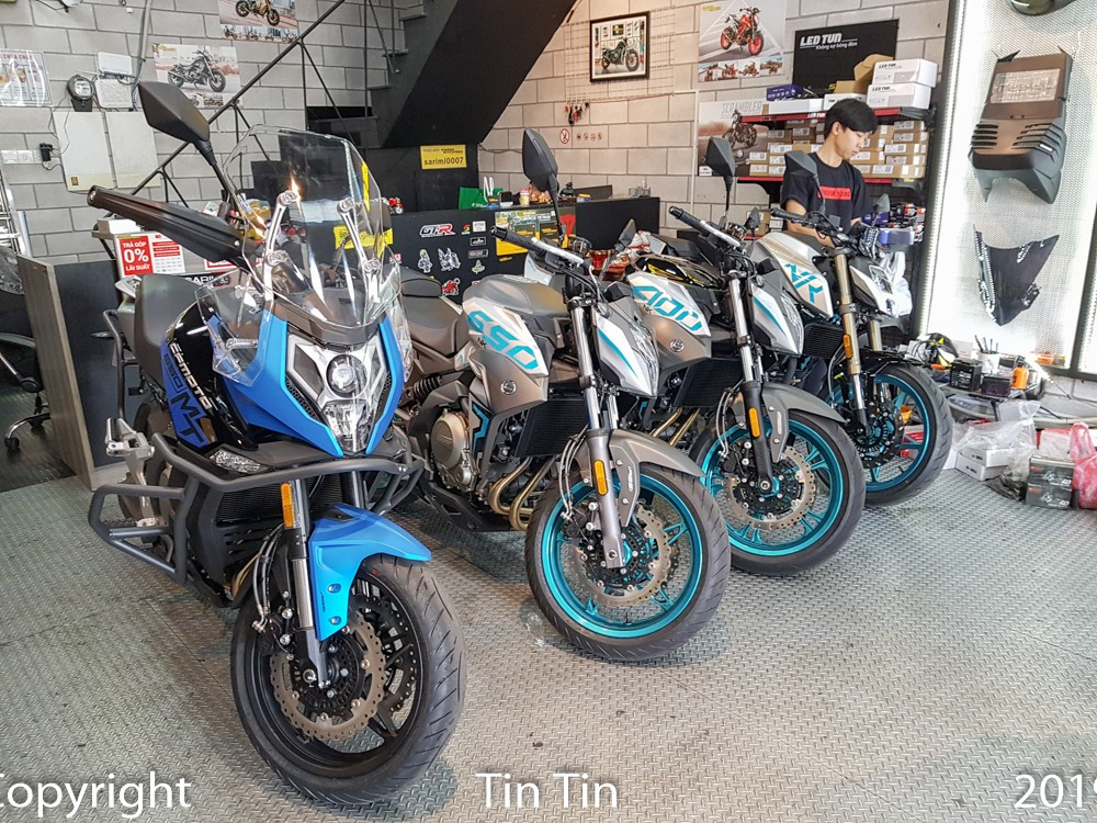 The appearance of CFMoto motorcycle brand from China in Vietnam at Christmas 2019 has caused many surprises for car enthusiasts in the country. The person who joined the CFMoto models back home was Saigon Maxspeed