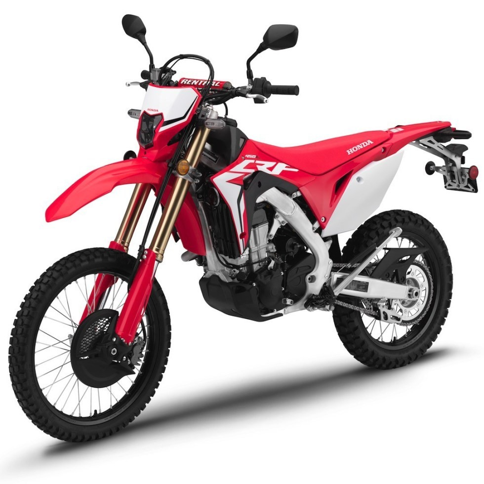 Honda CRF450L 2020 version with many changes worth the money