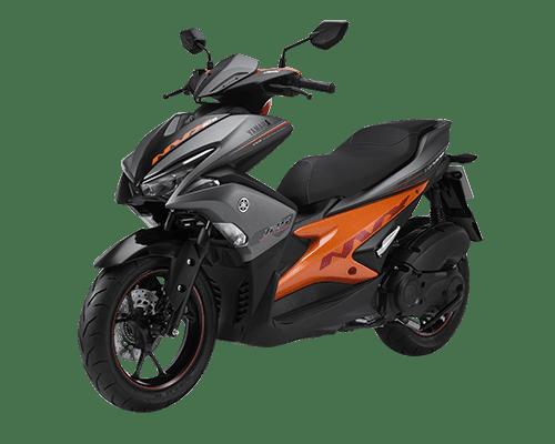 Yamaha NVX 125 màu Xám Cam