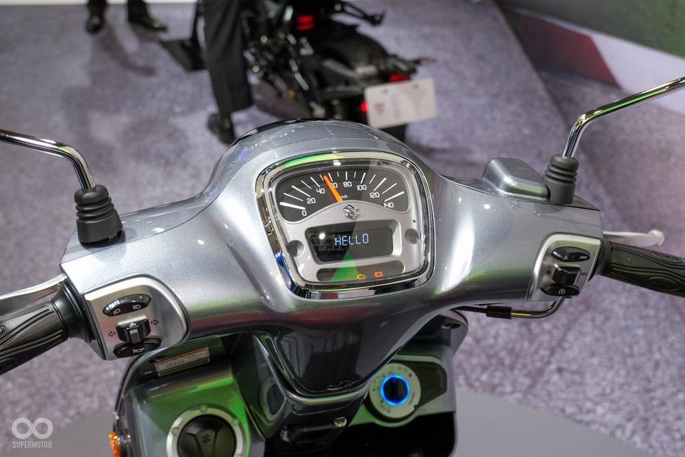 The face of the Suzuki Saluto 125