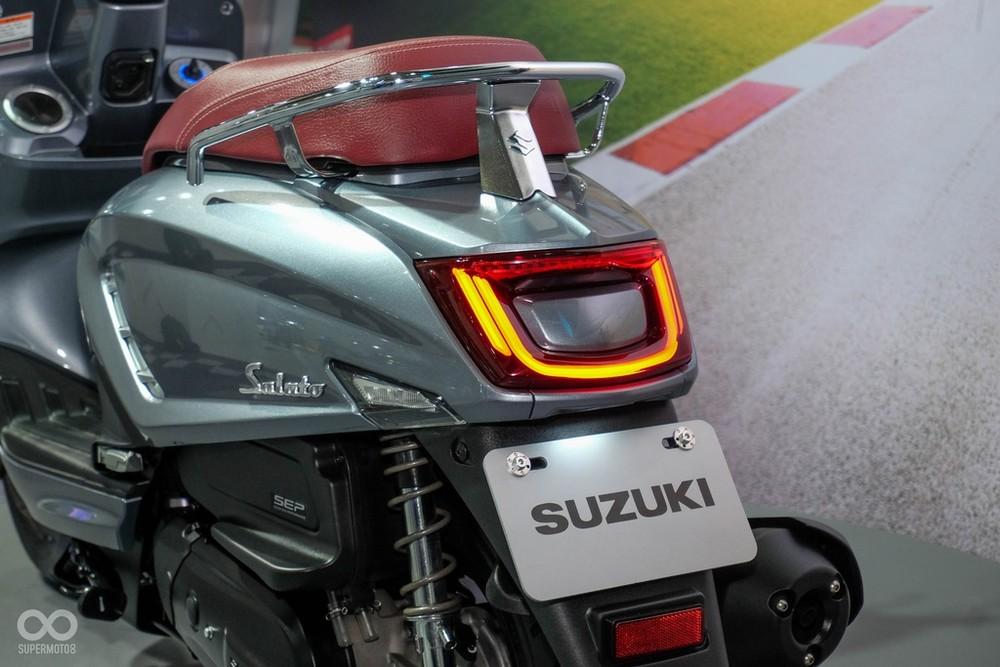 Suzuki Saluto 125 rear end