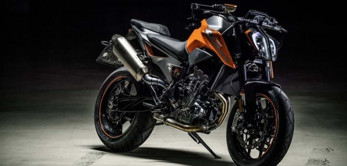 The engine block on KTM 490 will have about 60 horsepower