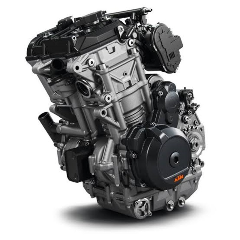 The engine block on KTM 490 will have the same design as the engine on the 790 series
