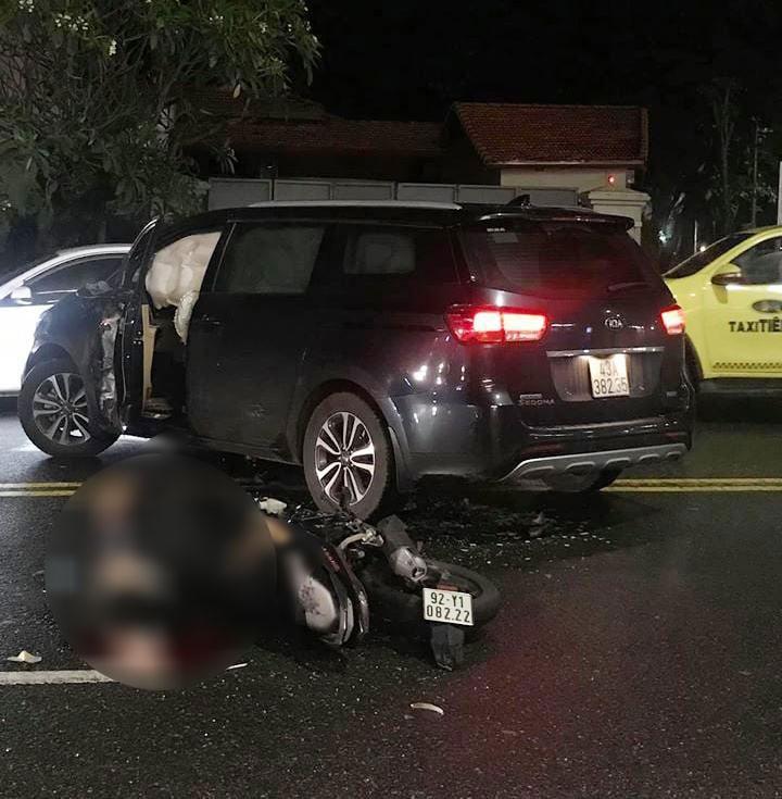 Hiện trường vụ tai nạn tại Đà Nẵng
