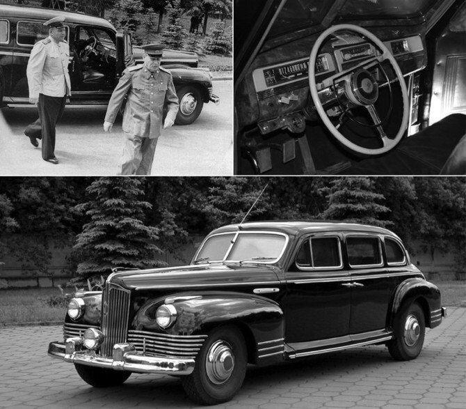 ZIS-115 là dòng xe bọc thép chống đạn dành cho nhà lãnh đạo Liên Xô Stalin