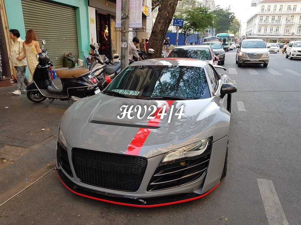 Và để chào đón năm Canh Tý, không ít siêu xe đã được các chủ nhân cho thay áo để mừng năm mới. Một trong số đó là chiếc siêu xe Audi R8 độ body kit thân rộng Prior Design độc nhất Việt Nam.