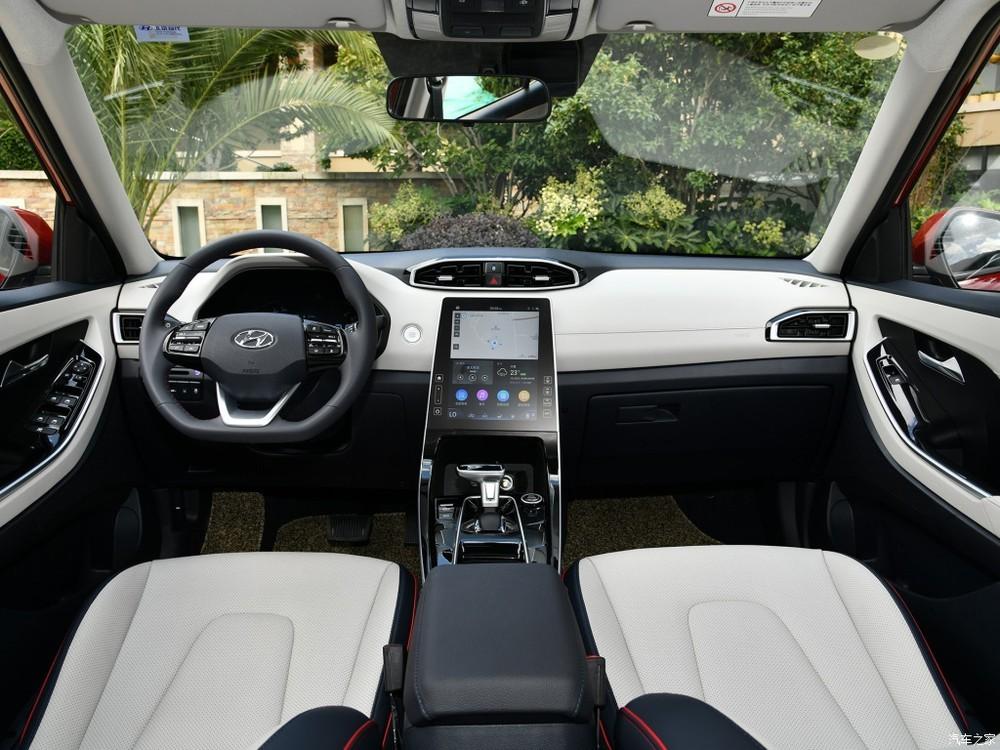 Nội thất bên trong Hyundai ix25 2020 tại Trung Quốc
