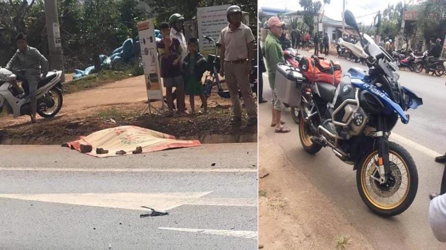Vụ tai nạn khiến một cụ ông tử vong tại chỗ