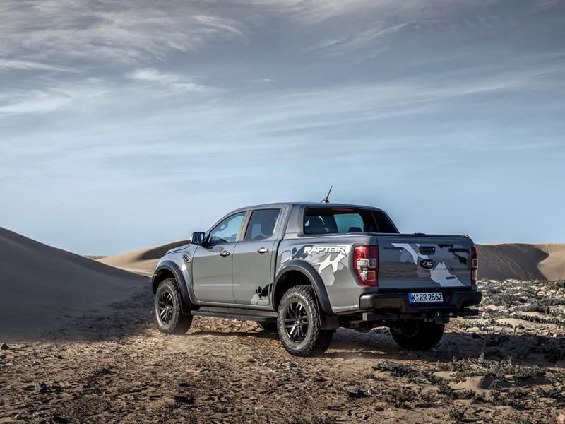 Động cơ V8 của Ford Ranger Raptor sẽ lấy từ Mustang GT