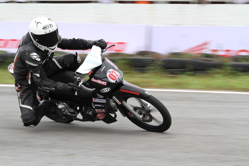 The athlete Nguyen Duc Thanh won the championship early in stage 5 of VMRC 2019