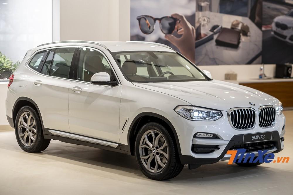 BMW X3 mới được ra mắt năm 2019 cũng được giảm giá khá sâu trong tháng 1/2020