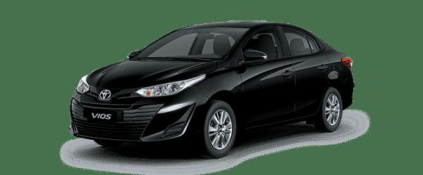 Toyota Vios 2020 màu đen
