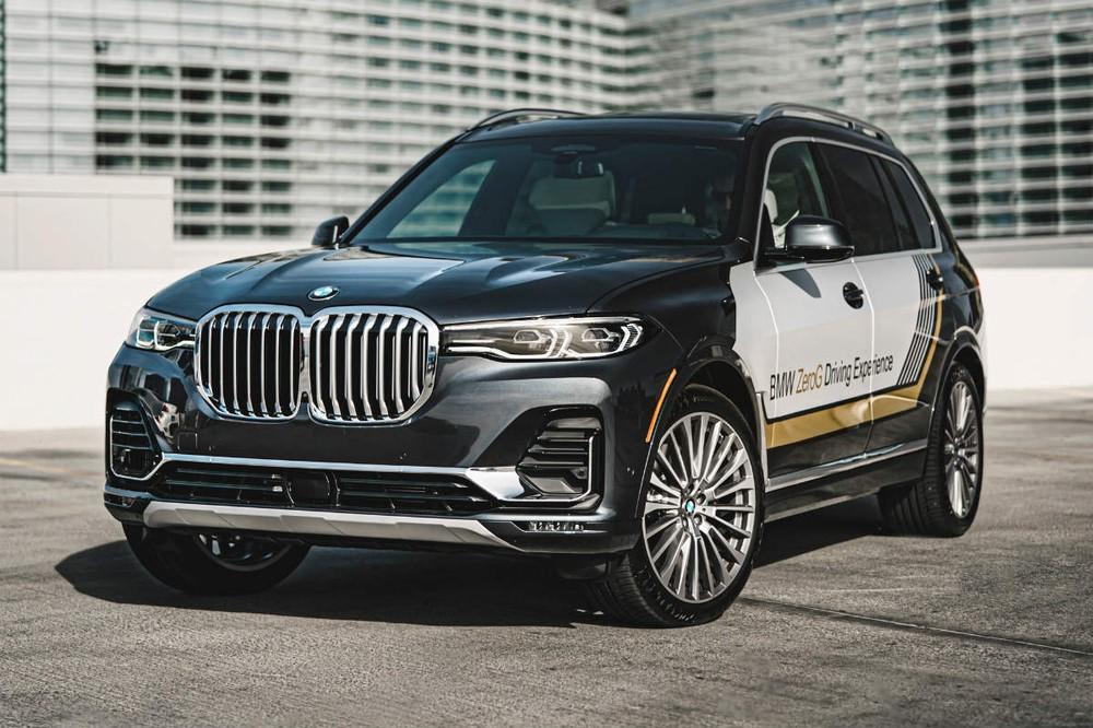 BMW X7 ZeroG Lounger là một trong những điểm nhấn của BMW trong triển lãm CES 2020