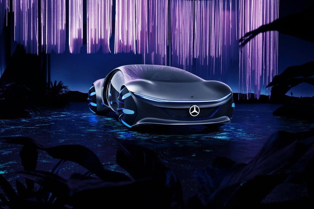 Mercedes-Benz Vision AVTR là xe chạy hoàn toàn bằng điện