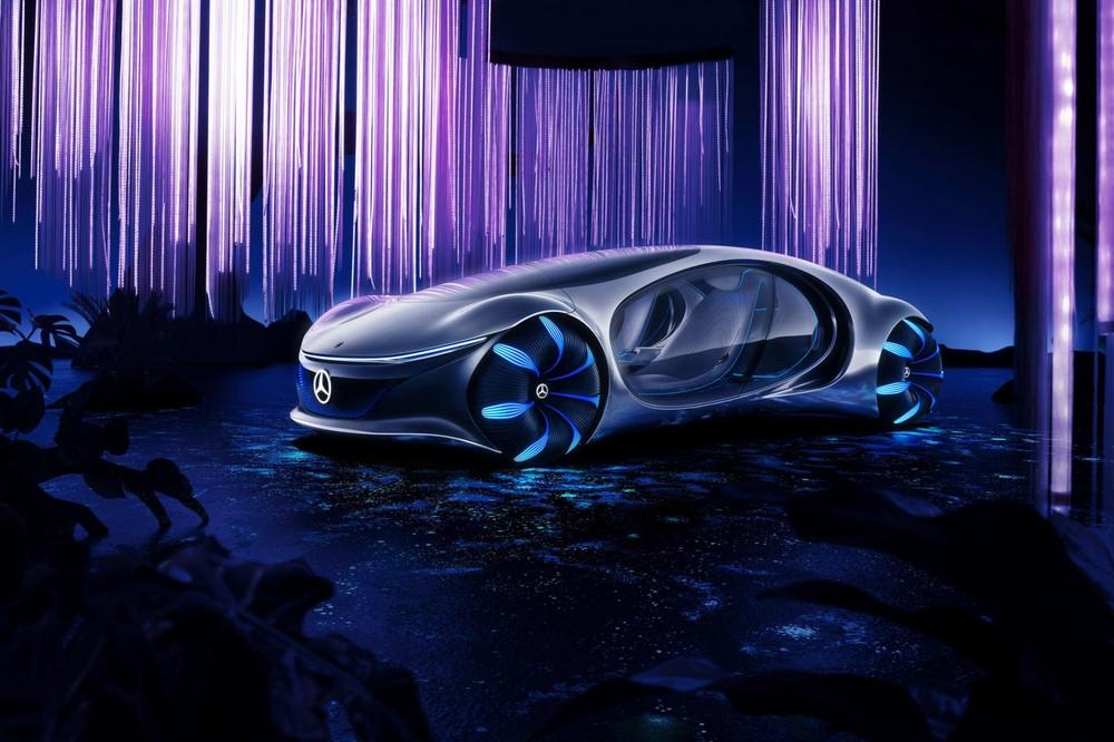 Mercedes-Benz Vision AVTR sở hữu thiết kế ngoại thất ấn tượng