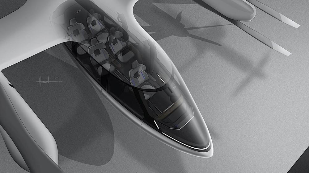 S-A1 có 4 ghế ngồi cho hành khách và một ghế cho phi công