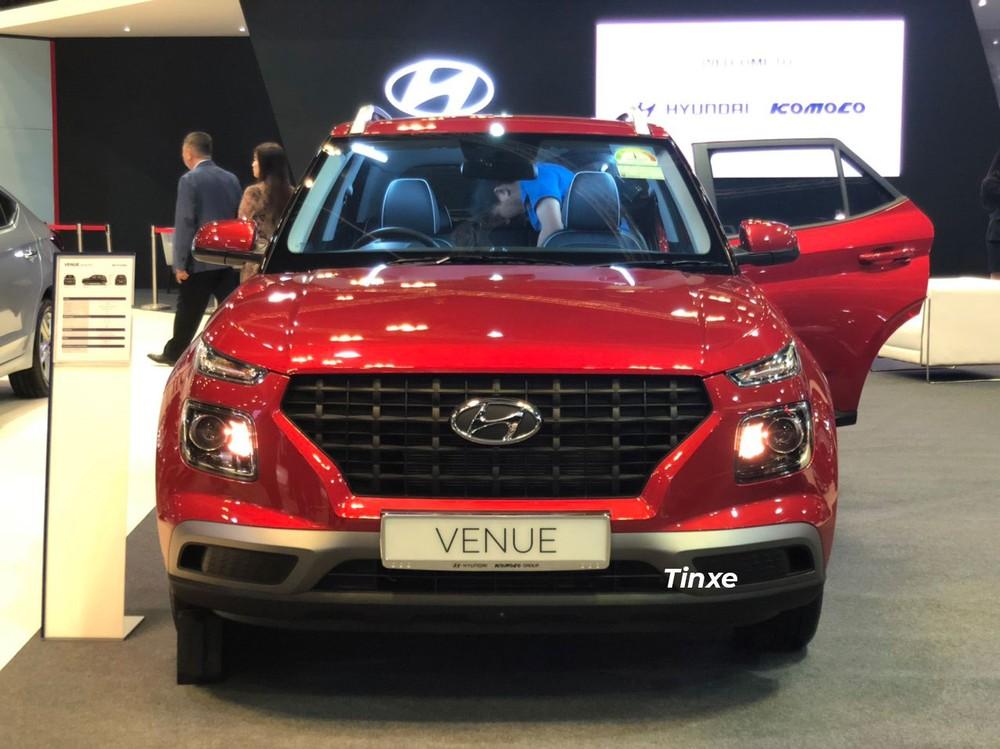 Cận cảnh thiết kế đầu xe của Hyundai Venue 2020