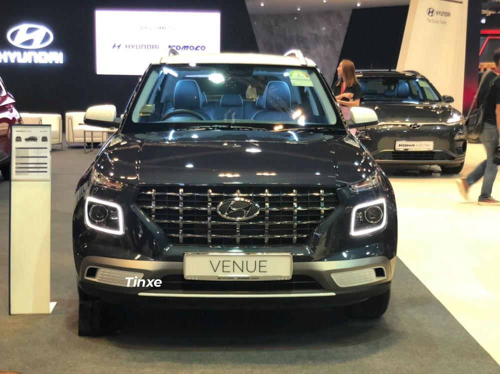 Hyundai Venue 2020 xuất hiện trong triển lãm Ô tô Singapore 2020