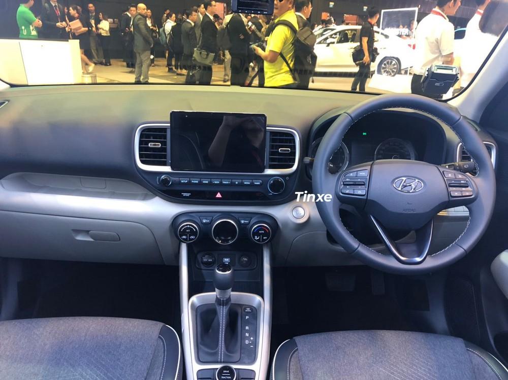 Nội thất của Hyundai Venue 2020 bản S
