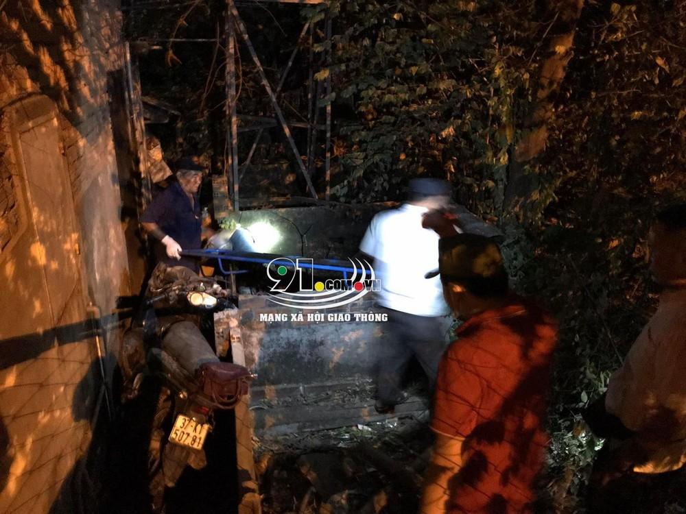 Vụ tai nạn khiến người phụ nữ đi xe máy tử vong tại chỗ