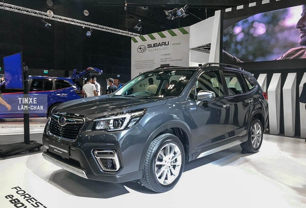 Subaru Forester e-Boxer vừa ra mắt Triển lãm Ô tô Singapore 2020 sở hữu hệ thống Mild Hybrid tự sạc
