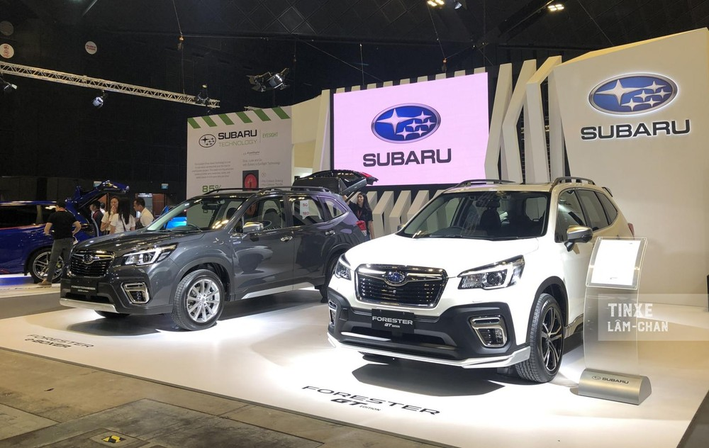 Subaru Forester GT Edition vừa ra mắt tại Triển lãm Ô tô Singapore 2020
