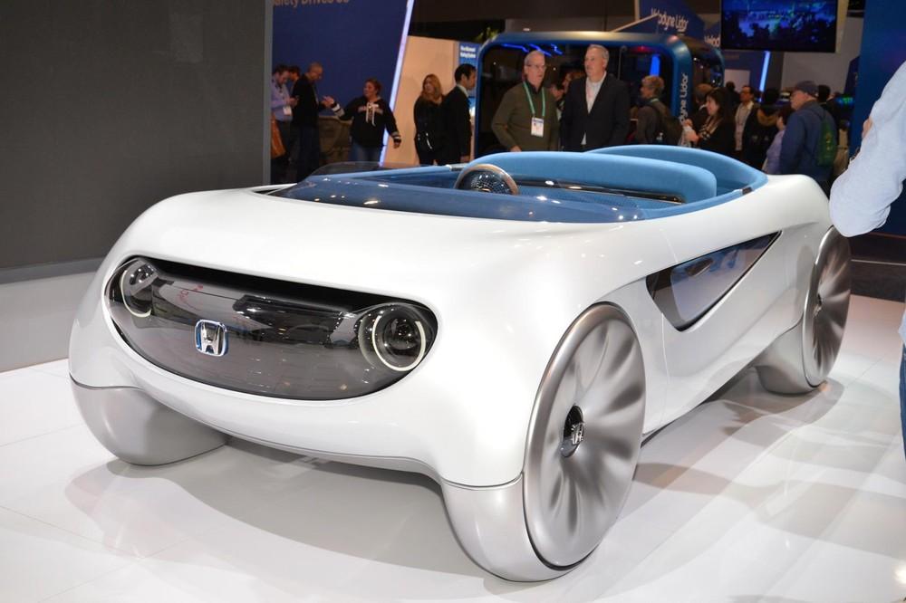 HondaAugmented Driving Concept có thiết kế hết sức kỳ quái và bé nhỏ