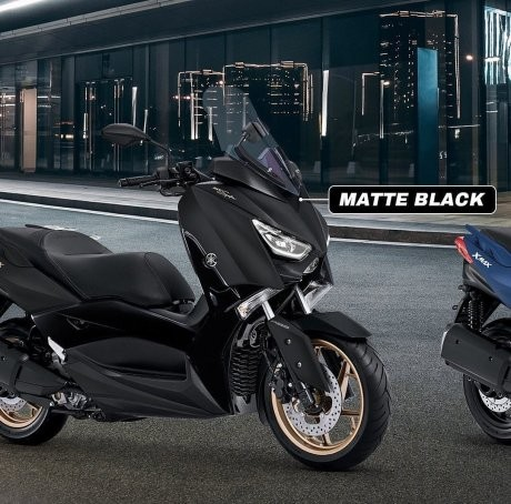 Yamaha XMax 250 2020 is available in Black / Copper Gold