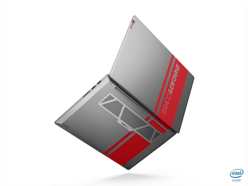 Lenovo laptop Ducati Corse version was introduced at CES 2020