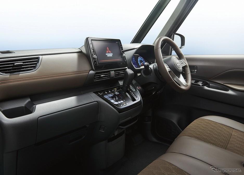 Nội thất bên trong Mitsubishi eK X Space 2020