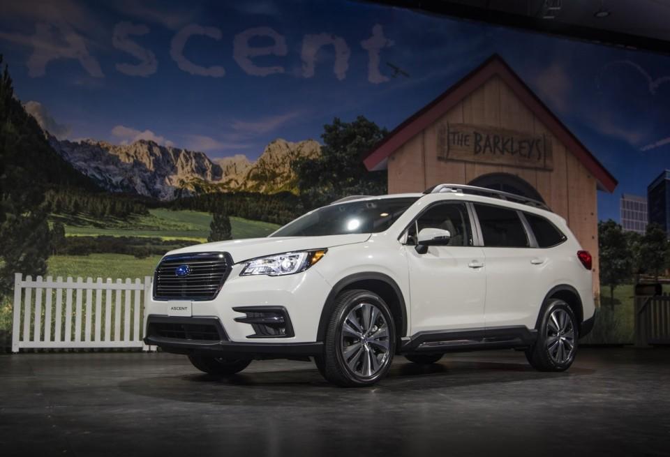Mẫu SUV cỡ lớn Subaru Ascent có thể sẽ được đưa về Việt Nam để thăm dò thị trường