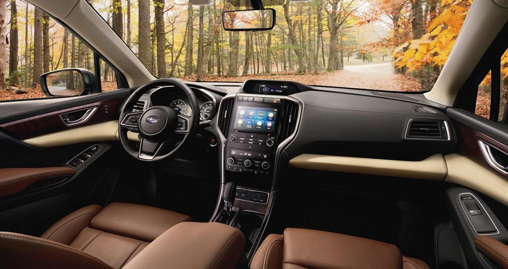 Nội thất bên trong Subaru Ascent tại Mỹ