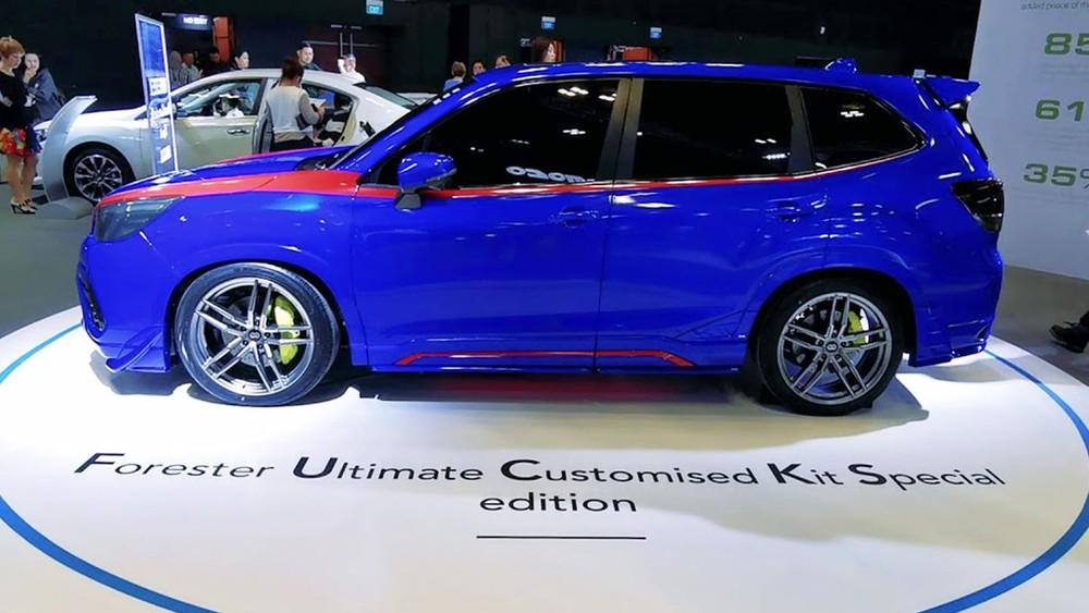 SubaruForester Ultimate Customized Kit Special edition có dáng vẻ bắt mắt cùng những trang bị nâng cấp