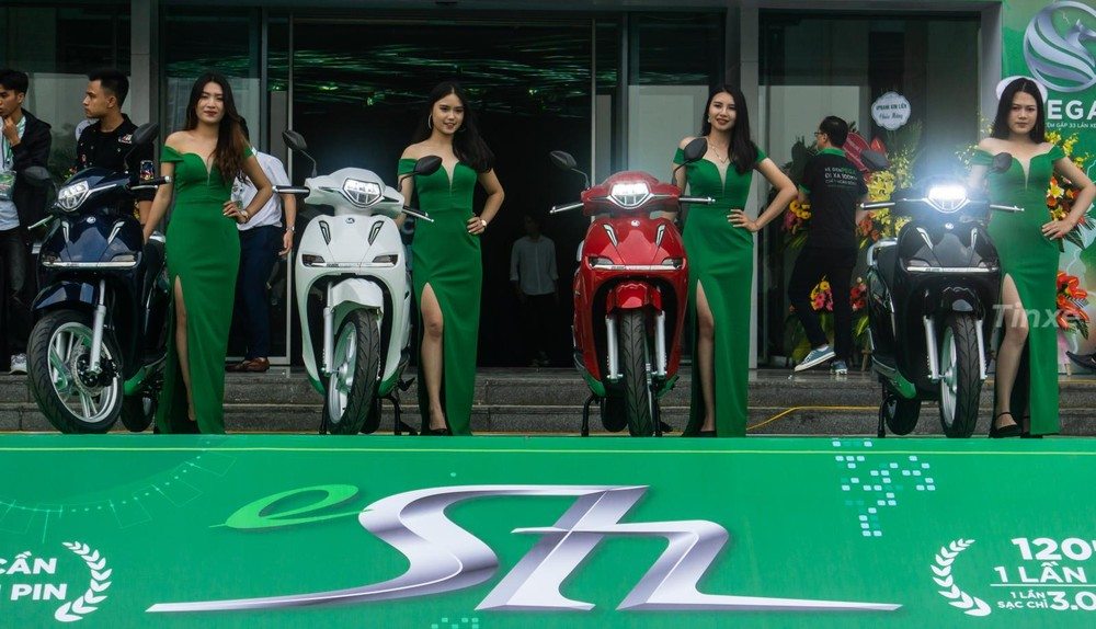 4 paint colors of Pega eSH launched in Hanoi