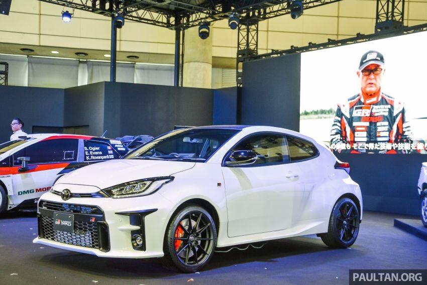 Toyota GR Yaris 2020 xuất hiện trong triển lãm Tokyo Auto Salon năm nay