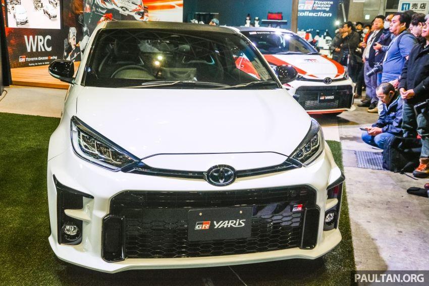 Cận cảnh thiết kế đầu xe của Toyota GR Yaris 2020