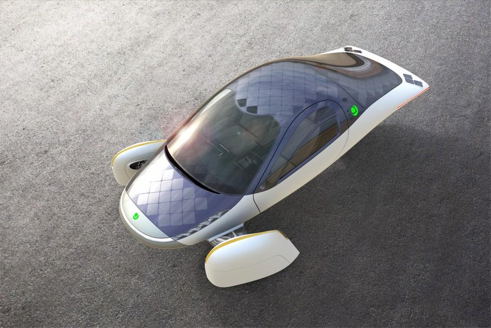 Thiết kế của Aptera là rất khác biệt so với ô tô điện hiện nay