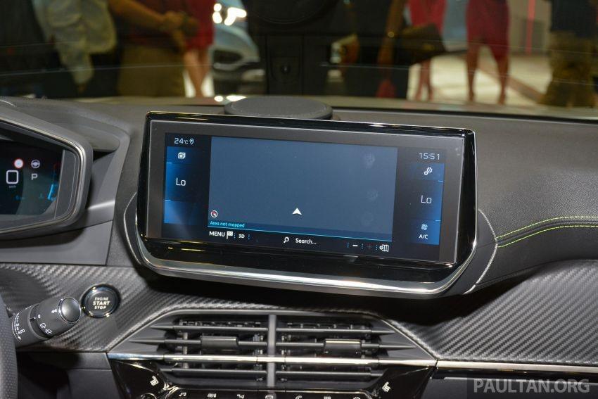Màn hình thông tin giải trí của Peugeot 2008 2020