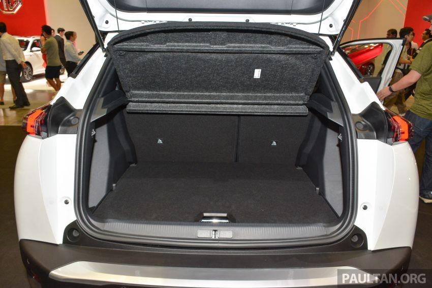 Khoang hành lý của Peugeot 2008 2020