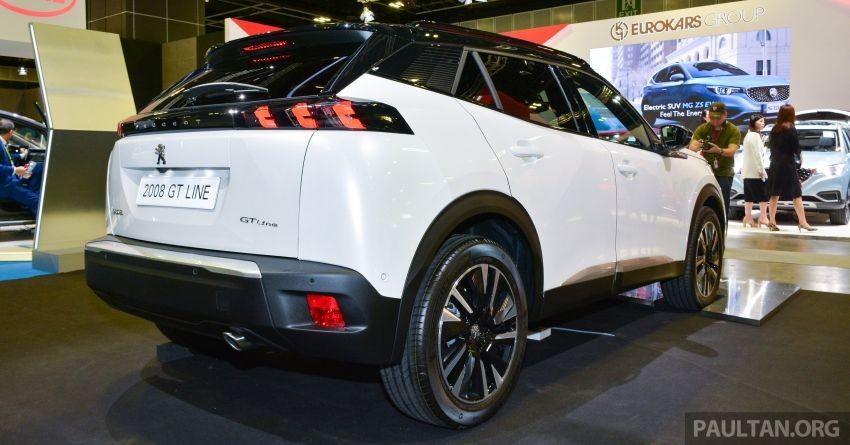 Peugeot 2008 2020 hứa hẹn có giá không rẻ tại Singapore