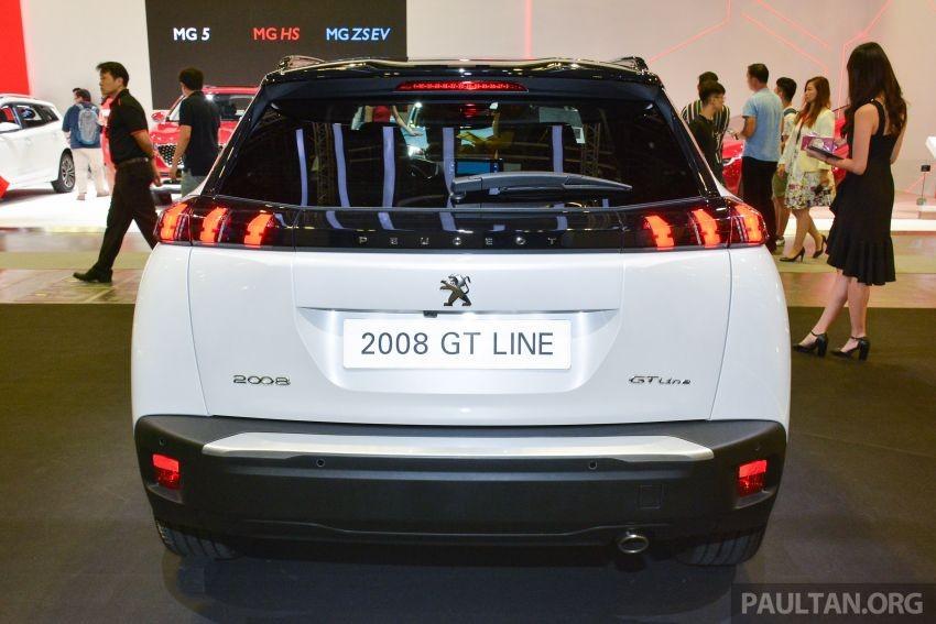 Thiết kế đuôi xe của Peugeot 2008 2020