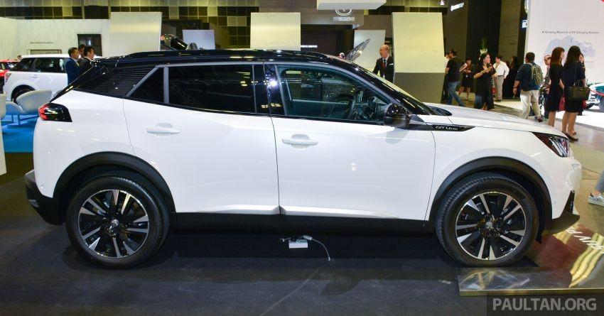 Peugeot 2008 2020 ra mắt trong triển lãm Ô tô Singapore năm nay