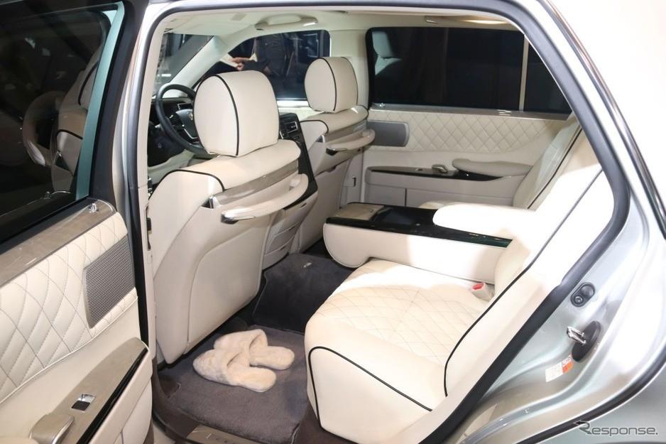 Toyota Century được trang bị gói an toàn Toyota Safety Sense hiện đại