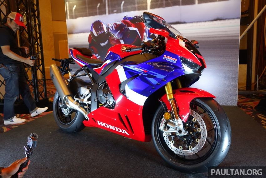 The Honda CBR1000RR-R 2020 has just been launched in Malaysia