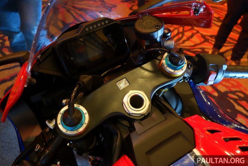 Honda CBR1000RR-R 2020 sở hữu hệ thống treo điện tử